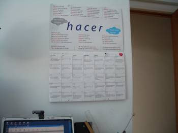 My  office with verb Hacer
